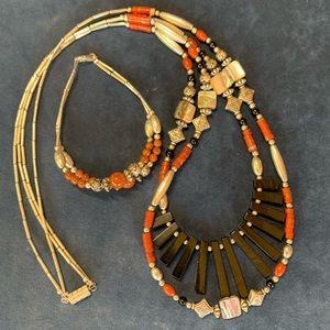 Jewelry - Multi-wear Necklace/Bracelet Set -Stunning!